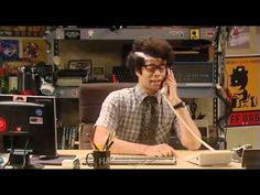 The IT Crowd - Moss's concussion
