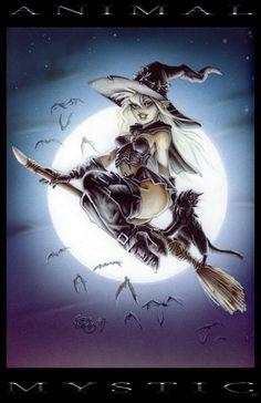 Halloween Jatarri Mystic by PlanetDarkOne on DeviantArt Fantasy Art Women, Dark Fantasy Art, Fantasy Girl, Fantasy Artwork, Dark Art, Witch Pictures, Halloween Pictures, Halloween Art, Halloween Halloween