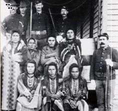 Trail of Tears Era. Cherokee Family is being removed from their home by…