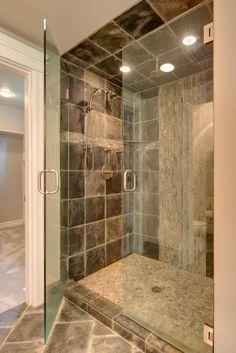 #Bathroom #Open #Shower #Ideas #OpenShowerIdeas