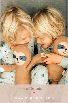 """Slow down and enjoy the moment, just like the sleepy sloth in our organic cotton """"Jungle Collection"""" of toys, blankets and clothing. Organic Baby Toys, Plastic Pellets, How To Dye Fabric, Sloth, Playground, Blankets, Organic Cotton, Clothing, Collection"""