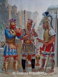 Late Bronze Age Mycenaean warriors