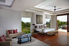 Master bedroom at The Seventh Seal.  Check our website: http://theseventhsealretreat.com
