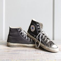 Vintage Converse High Top Sneakers  Mens 75  / by ethanollie, $30.00