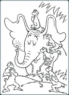 Horton hears a who. A persons a person no matter how small