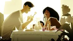 Heartwarming family scenes beautifully illustrated by Pascal Campion | Creative Boom Blog | Art, Design, Creativity