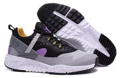 1f68954cbd52c4 2015 Newest Designed Nike Air Huarache Utility Run Shoes Camouflage Black  Purple Mens Sneaker Online Buy
