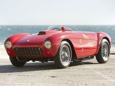 1954 Ferrari 500 Mondial Spider Series - This rare car is up for auction with expected price 2 Million.