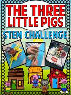 Hold your horses, or maybe your pigs? This idea brings STEAM and literature into one, big challenge! Kids will love taking a favorite and adding a twist! Steam Activities, Back To School Activities, Science Activities, Creative Curriculum, Three Little Pigs, Stem Science, Kindergarten Science, Stem Challenges, Stem Projects