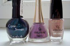 Lovely Crystal Strength 375, Golden Rose Paris 145 and Golden Rose 204