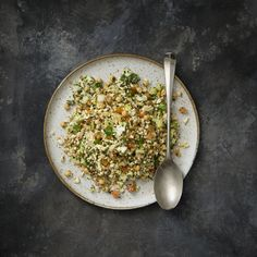 Thermomix | Raw Cauliflower Tabouli | Eat Well cookbook + recipe chip | Sides |