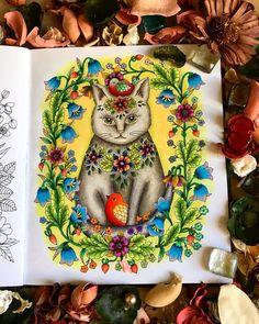 "3 Likes, 1 Comments - Svetlana Ustinova (@mossvet1) on Instagram: ""✍️ ""Сумеречный сад"" @maria_trolle #mariatrolle #мариятролле #сумеречныйсад…"""