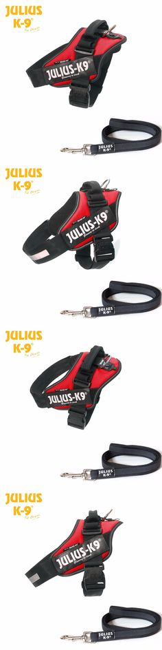 Harnesses 66783: Julius-K9 Idc Powerharness Dog Harness - Red, All Sizes, Free Leash Included! -> BUY IT NOW ONLY: $50.99 on eBay!