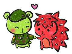 Flippy x Flaky Photo: happy tree friends htf anime couple cute sexy hot redhead red hair green hair long short hair eyes girl guy boy male female in lov. Happy Tree Friends Flippy, Htf Anime, Retro Aesthetic, One Punch Man, Dear God, Anime Couples, Chibi, Childhood, Kawaii