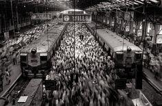 Churchgate Station, Bombay, 1995 Sebastião Salgado