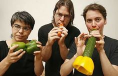 They play with their food... literally. The Vienna Vegetable Orchestra is a unique ensemble of 11 musicians who make vegetable music with carrot flutes, pumpkin basses, leek violins, leek-zucchini-vibrators, cucumberophones and celery bongos. At the end of their performance, the vegetable scraps are cooked and the audience is treated to a bowl of bubbling vegetable soup.