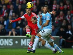 Southampton 1 Manchester City 1 Dani Osvaldo fires a warning to England as he scores a wonder goal, easily the best thing he has done since his £15million move from Roma.