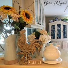 """Gates of Crystal: From """"Farmhouse"""" to """"French Country"""" - Part Two"""