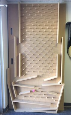 Plinko boards like this are a great addition to any bunk bed or indoor playhouse. Kids will love watching the ball race a new track every time, and if you ask for pockets at the bottom, it makes a great way to choose chores. Click to learn more about our full selection of playhouse accessories.