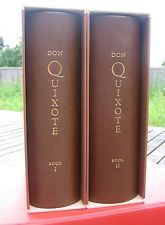ARION PRESS – DON QUIXOTE (2 VOLUMES) – as new/ limited illustrated signed edition