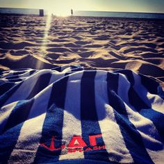 Delta Gamma beach towel