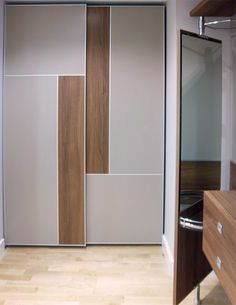 30 Modern Wardrobe Design For Beautiful Home Furniture Ideas - Wardrobe Idea, Wardrobe Interior Design, Wardrobe Design Bedroom, Bedroom Cupboard Designs, Bedroom Bed Design, Bedroom Furniture Design, Wardrobe Laminate Design, Furniture Ideas, Furniture Companies, Sliding Door Wardrobe Designs