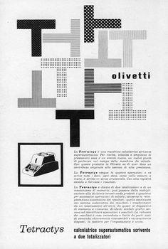 Olivetti Tetractys (1957)