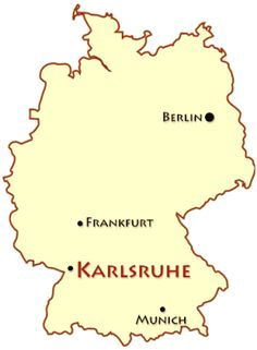 "- Karlsruhe Germany map - James Martin - Present day ""Durlach"" is a borough of the German city of Karlsruhe with a population of roughly Theme List, James Martin, Black Forest, Present Day, I Fall In Love, Travel Ideas, Berlin, Germany, Map"