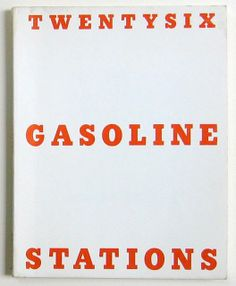 all ed ruscha's artist books together for the first time???