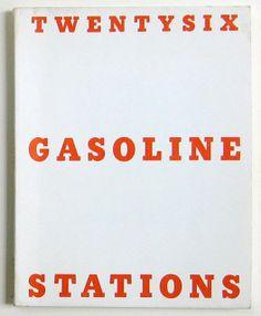 "Ed Ruscha ""Twentysix Gasoline Stations"" 1962"