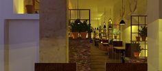 Diseño interior para Restaurante.lao.studio