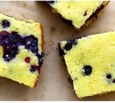 Blueberry Cornbread Kimberley Hasselbrink of The Year in Food http://www.cuesa.org/recipe/blueberry-cornbread