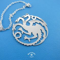 House Targaryen Necklace free shipping   Game of от BorowskiStore