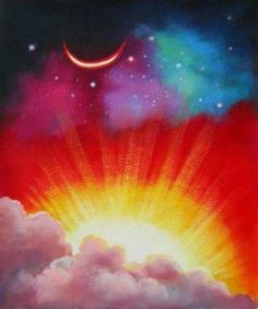Kate's Novel Idea: sun moon stars rain