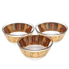 22k gold Culver Florentine Fruits Bowls available at TheHourShop.com