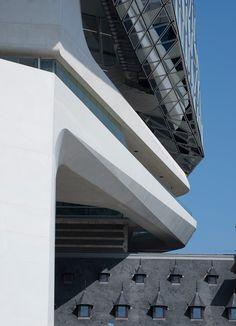 zaha hadid architects antwerp new port house belgium designboom