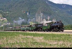 107 RhB - Rhätische Bahn G 4/5 at Malans, Switzerland by Urs Diener