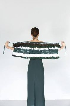 Contemporary Handwoven Korowai with Taniko Nihoniho Trim Flax Weaving, Hand Weaving, Maori Patterns, Maori Designs, Maori Art, White Feathers, Weaving Patterns, People Art, Wearable Art