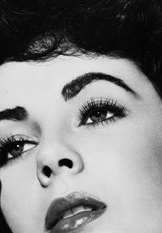 Elizabeth Taylor, 1951 (at the time she made A PlaCe in the Sun with Montgomery Clift).