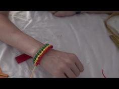 Pulsera de tres colores. - YouTube