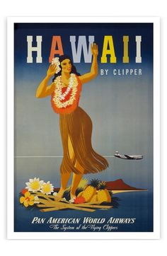 Oliver+Gal+'Hawaii'+Framed+Art+Print+available+at+#Nordstrom