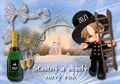 vanoce_novy_rok_novorocni_prani Merry Christmas, Christmas Gifts, Christmas Ornaments, Cute Images, Happy New Year, Tweety, Harry Styles, Santa, Holiday Decor