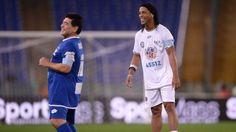 Ronaldinho Gaúcho vs Friends Maradona & Totti 12.10.2016