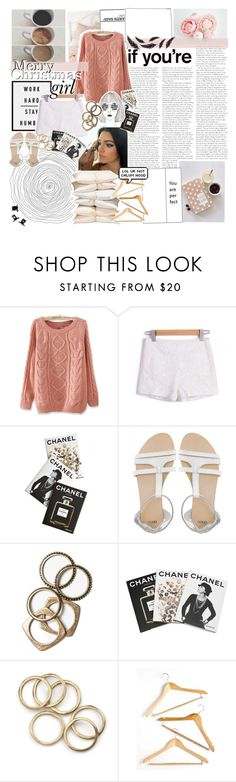 """""""Feliz Navidad!"""" by gaby-rodriguez ❤ liked on Polyvore featuring Børn, Assouline Publishing, ASOS, Rachel Leigh, Honey-Can-Do and H&M"""