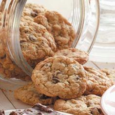 Oat Chocolate Chip Cookies Recipe from Taste of Home