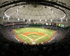 Florida: Tropicana Field. Rays v. Giants Series!!!! August 2nd can't get here fast enough!!!