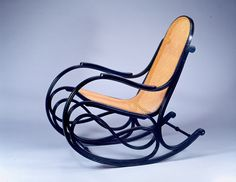 Gebrüder Thonet (Vienna, Austria, 1853 – 1921) | Rocking Chair | after 1885 | Beech and cane | Gift of Sara and Paul N. Steinfeld | 1999.126