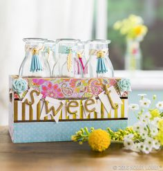 Sometimes all you need is a pop of color or a handful of trinkets to create that wow factor!