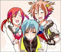 Sora's little pigtails though.