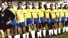 O único time que vestiu inteiro a camisa do Brasil